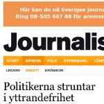 Anna Troberg skriver i Journalisten